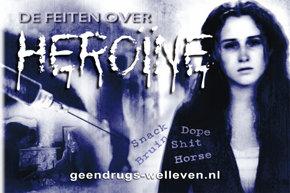 Heroine boekje